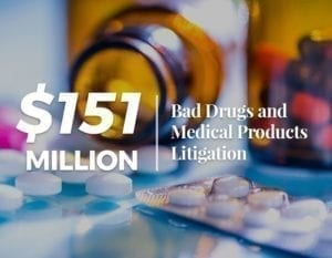 $Million Bad Drugs and Medical Products Litigation