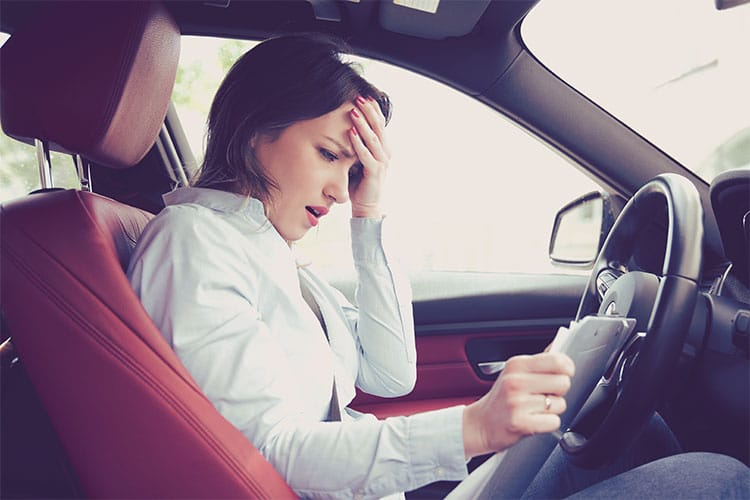 Car accident in a leased vehicle