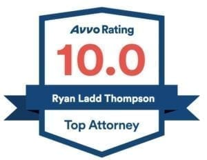 Avvo Rating 10.0 Top Attorney - Ryan Ladd Thompson