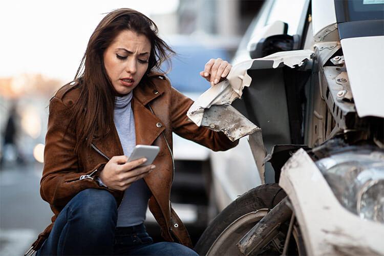 Accidente de viaje compartido