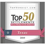 Texas Top 50 Settlements 2019