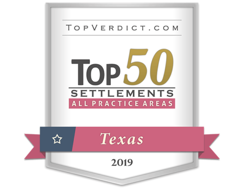 Thompson Law Obtains 6 of the Top 50 Settlements in Texas in 2019