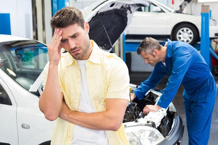 Auto repair after car accident